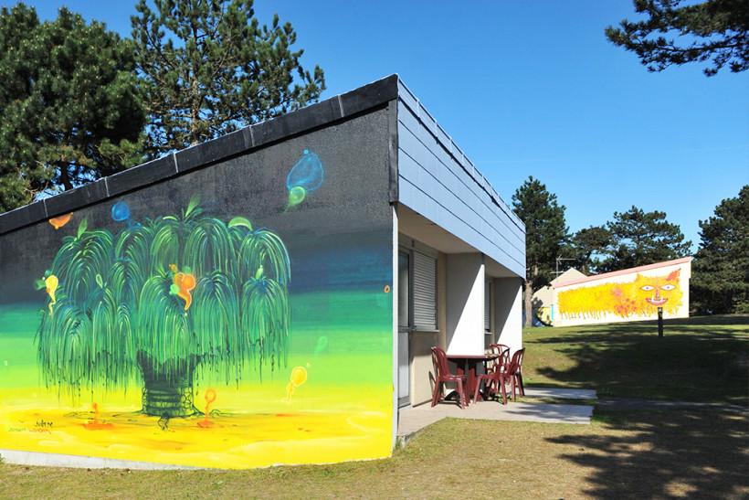Bienvenue dans notre village de vacances à thème  street art !