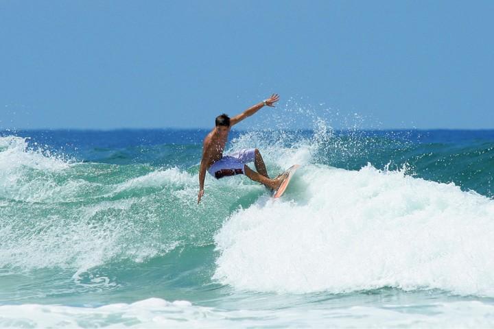 Des vacances sous le signe du surf
