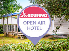open air hotel azureva camping