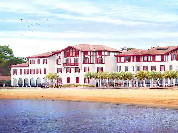 Rental holidays hotel Hossegor