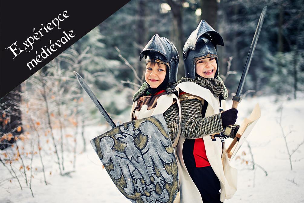 village vacances medieval murol hiver