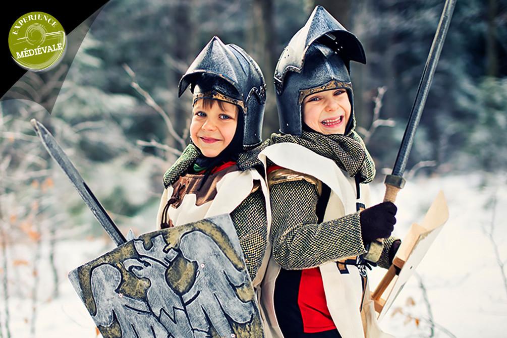 vacances a theme murol medieval hiver