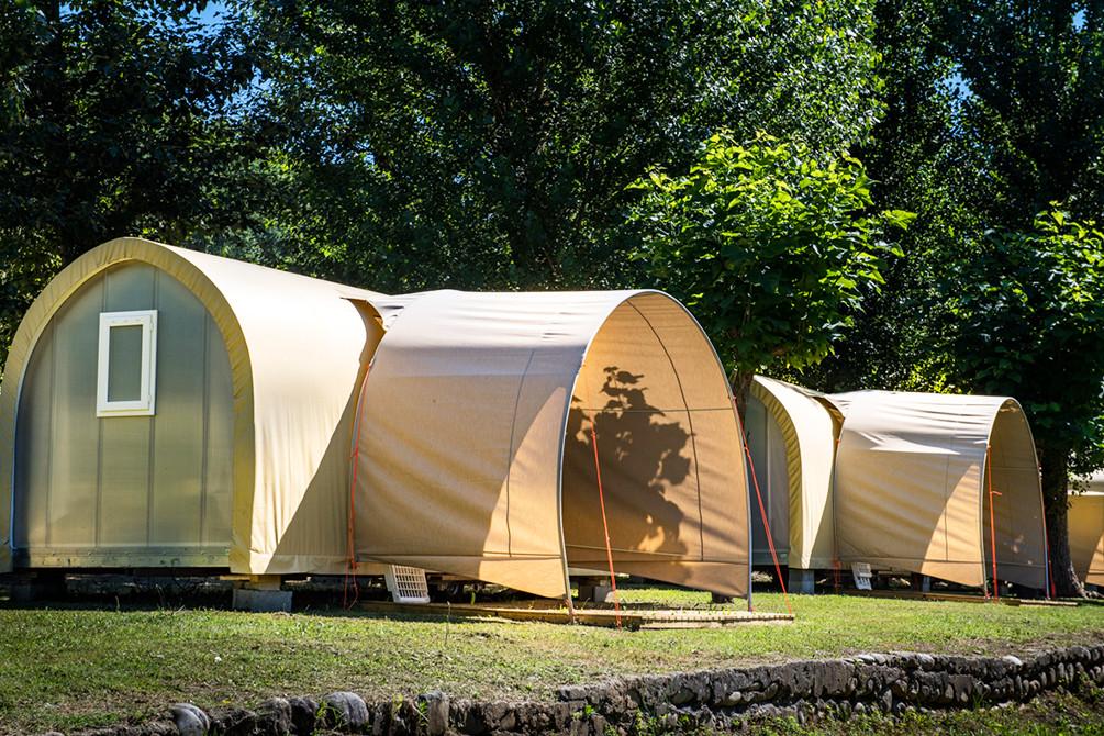 camping le gibanel dordogne azureva sejour tente insolite nature