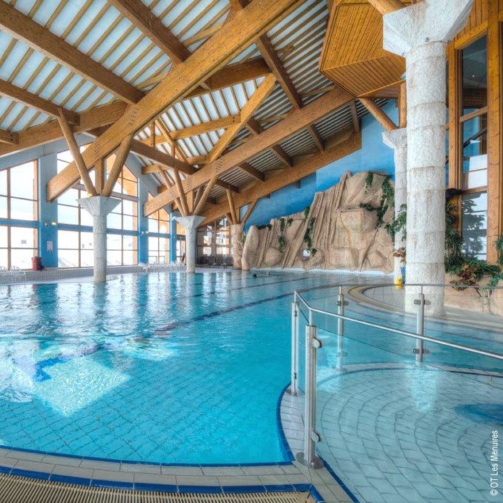 village vacances piscine les menuires