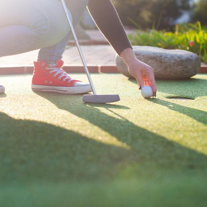 village vacances famille activites sportives mini golf pornichet