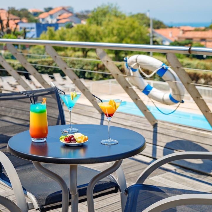 vacances village club anglet terrasse
