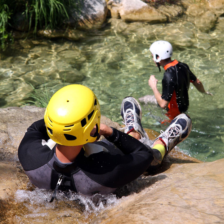 vacances sport anglet canyoning