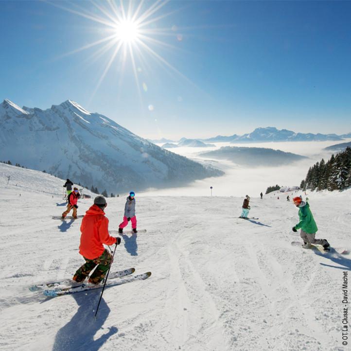 village vacances ski la clusaz