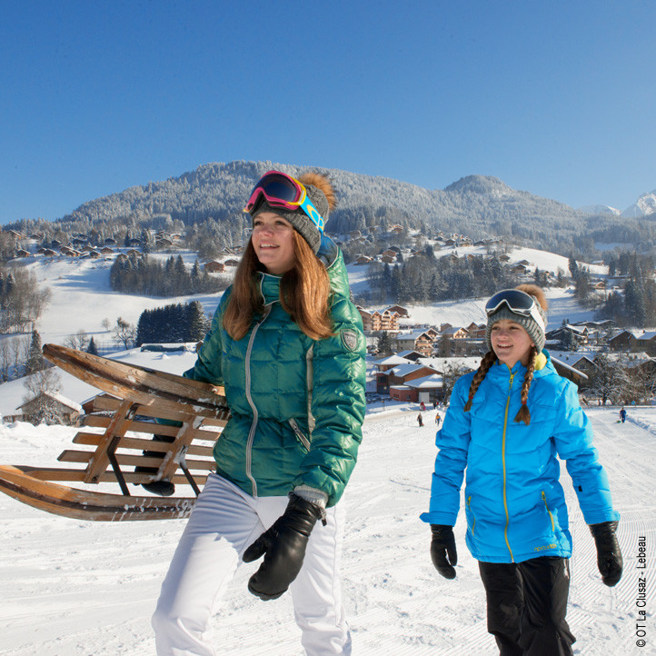 vacances au ski la clusaz c