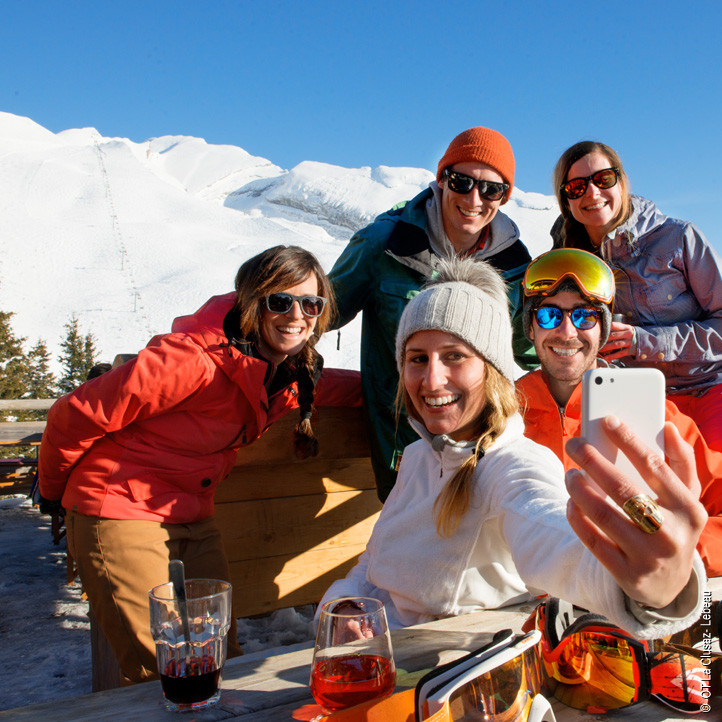 azureva vacances au ski la clusaz detente