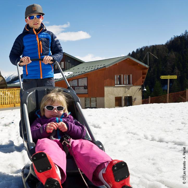 village vacances enfants les karellis clubs petits