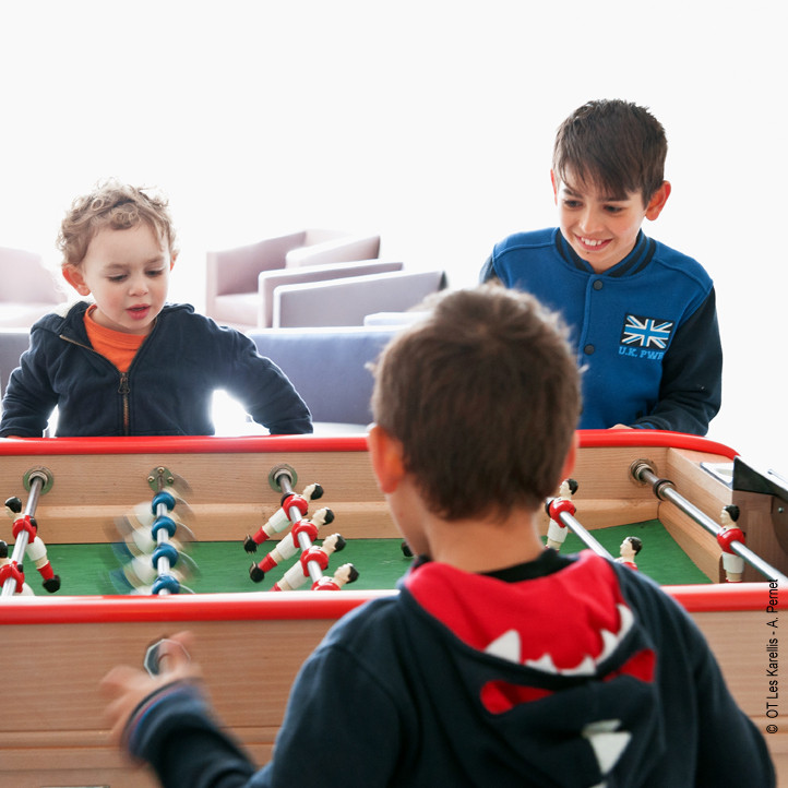 village vacances enfants les karellis clubs moyens