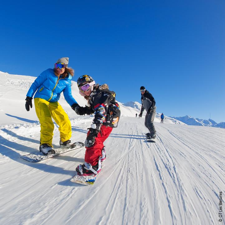 residence vacances alpes les menuires nouvelles glisses