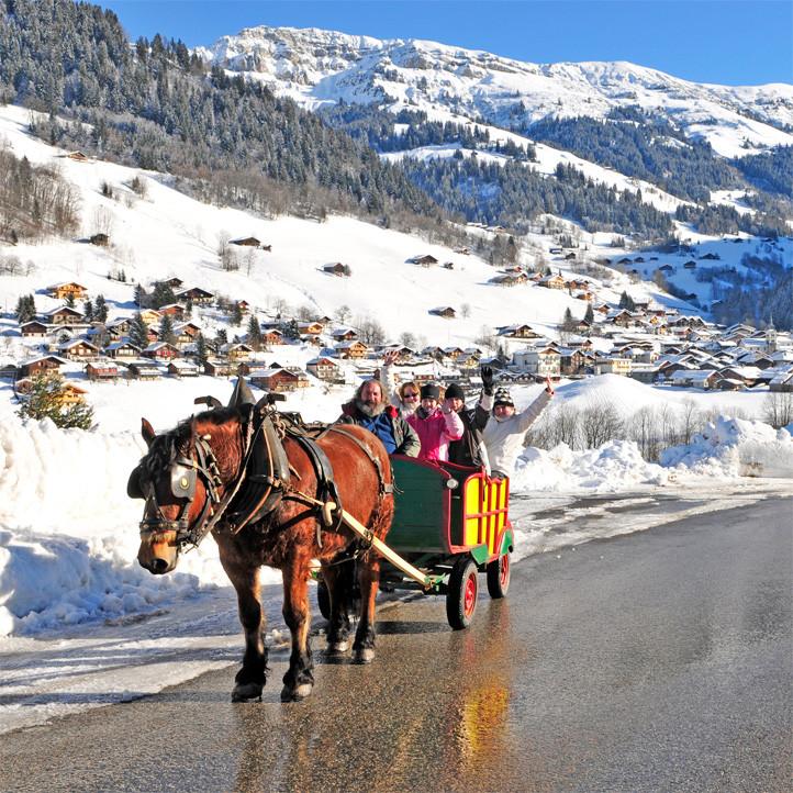 village vacances montagne areches neige