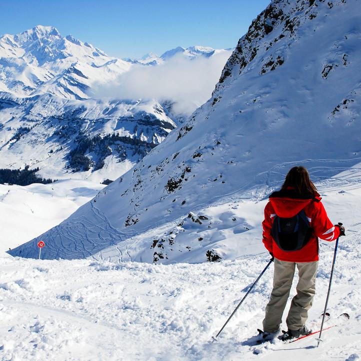 vacances alpes areches neige