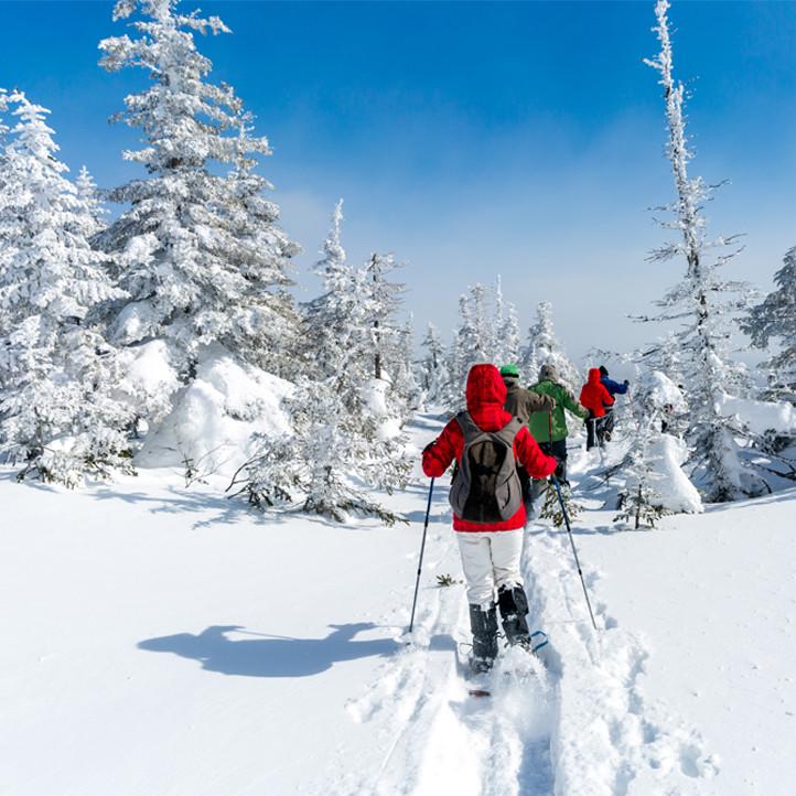 vacances sport areches raquettes a neige
