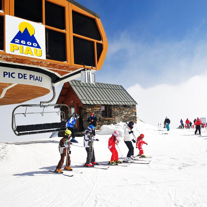 vacances sport piau engaly ski