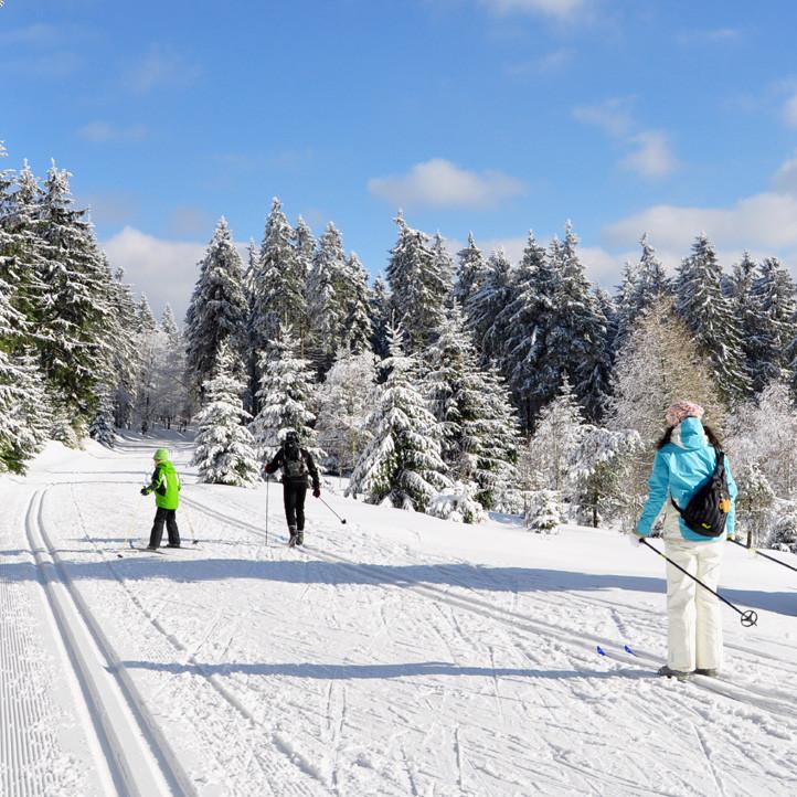 village vacances murol ski nordique