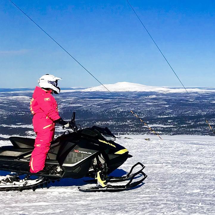 vacances sport savoie les karellis snowscoot