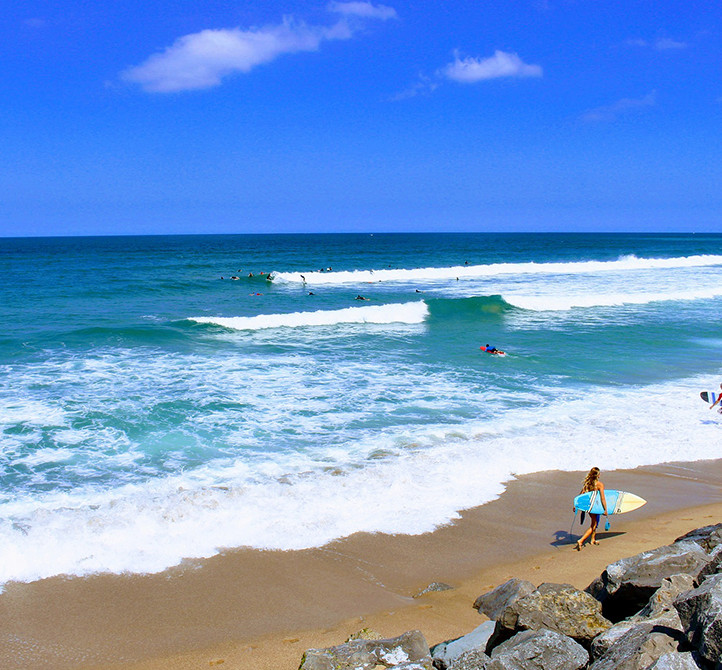 Surf holiday and location Hossegor Azureva
