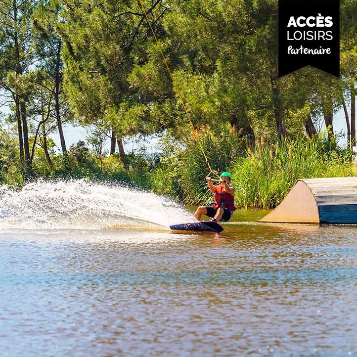 vacances sport lacanau wakeboard pole glisse